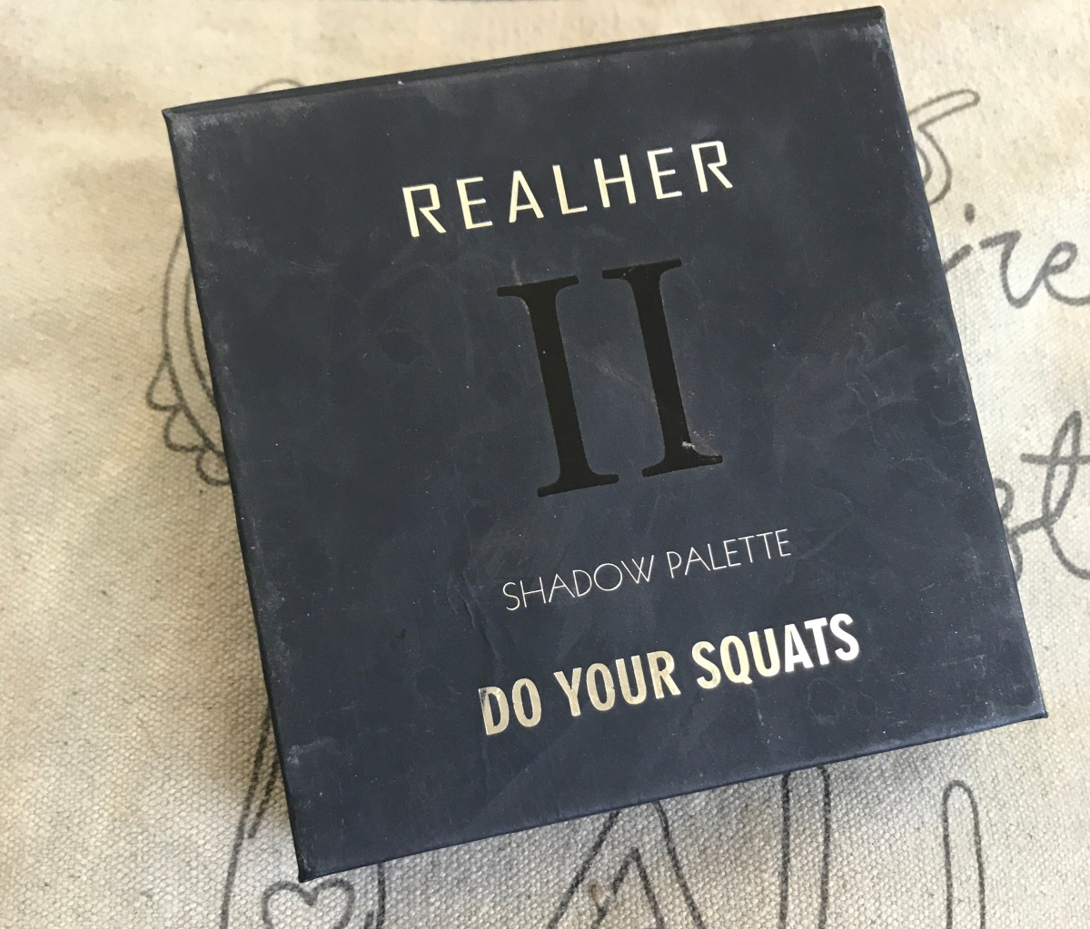 Real Her ~ Shadow Palette II : Do Your Squats